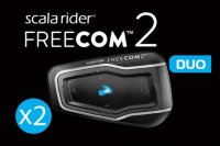 Блютуз гарнитура Scala Rider Freecom 2 Duo