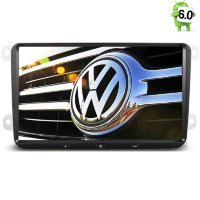 Штатная магнитола Volkswagen Amarok, Caddy, Eos, Golf 5, Golf 6, Golf Plus, Jetta, Passat B6, B7, CC, Polo 5, Scirocco, Tiguan, Touran, Transporter T5, T6, Sharan, Beetle, Caravelle T5, T6, Multivan T5, T6 LeTrun 1706 Android 6.0.1