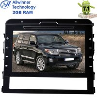 Штатная магнитола Toyota Land Cruiser 200 2016+ LeTrun 2099 Android 7.1.2