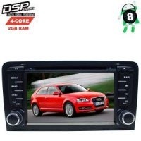 Штатная магнитола Audi A3 8P (2003-2013) LeTrun 2626 GS Android 8.x DSP