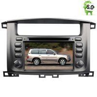 Штатная магнитола Toyota Land Cruiser 100 LeTrun 1497 Android 6.0.1