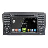 Штатная магнитола Mercedes-Benz M-class W164 2005-2011, GL-Class X164 2006-2012 Roximo CarDroid RD-2504D DSP Android 8.0