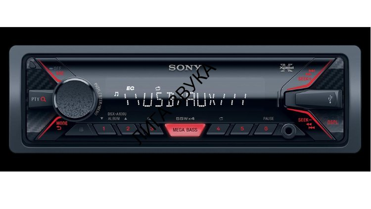 Автомагнитола Flash USB Sony DSX-A100U