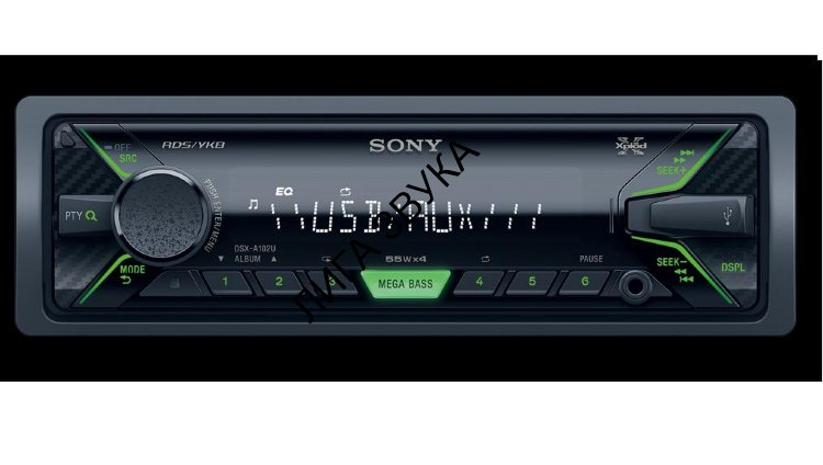 Автомагнитола Flash USB SONY DSX-A102U