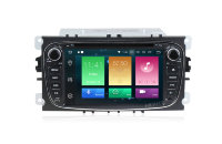 Штатная магнитола Ford Focus II, Mondeo, S-MAX, Galaxy, Tourneo/Transit Connect Carmedia MKD-7053-P5-8 Android 8.0 черный