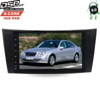 Штатная магнитола Mercedes E-class W211 2002-2009, CLS-class C219 LeTrun 2242 DSP Android 8.0