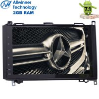 Штатная магнитола Mercedes-Benz A-class W169 2004-2012, В-class W245 2005-2011, Vito 2006+, Viano 2006+, Sprinter W906 2006+ / VW Crafter 2006+ LeTrun 2160 ZH Android 7.1.2