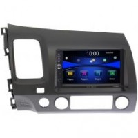 Штатная магнитола Honda Civic 7 (VII) 2003-2005, Civic 8 (VIII) 2006-2012 Wide Media DV-JM7021-RP-HNCV52-60 без NAVI