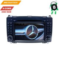 Штатная магнитола Mercedes A/B-class, Vito, Viano, Crafter, Sprinter LeTrun 3003 KD Android 8