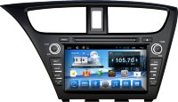 Штатная магнитола Honda Civic 9 Hatchback 2011-2016, Civic 9 Tourer 2013-2016 Carmedia QR-8067