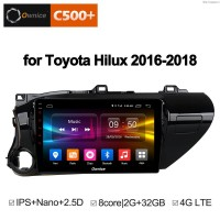 Штатная магнитола Toyota Hilux 2016-2018 Roximo Ownice C500+ S1686P Android 6.0 4G LTE