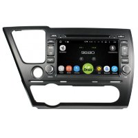 Штатная магнитола Honda Civic 9 4d FlyDigital RD-1902 Android 6.0