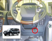 Блокиратор руля Sentry Spider Toyota Land Cruiser Prado