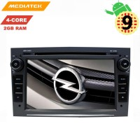 Штатная магнитола Opel Astra, Vectra, Zafira, Corsa LeTrun 3051 KD Android 9 MTK-L DSP Black