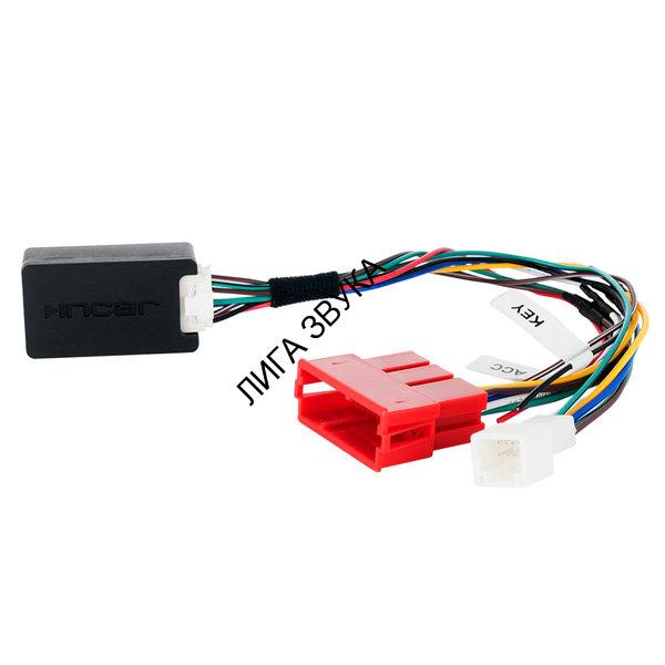 адаптер кнопок руля incar для автомобилей nissan.