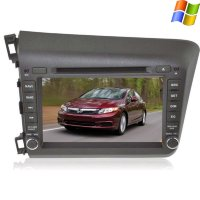 Штатная магнитола Honda Civic 9 (IX) 2012-2015 Sedan LeTrun 0312 WinCe